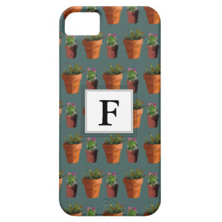 Sweet Potted Succulent Print Customisable Case For The iPhone 5