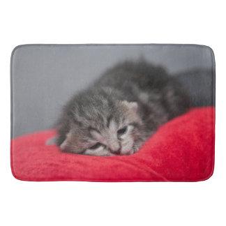 Sweet puppy cat bath mat