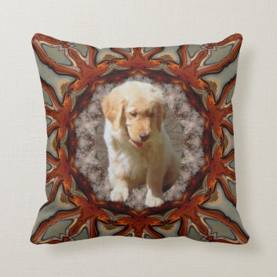 Sweet Puppy. Throw Pillow