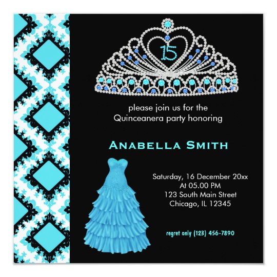 Sweet Quinceanera Card