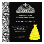 Sweet Quinceanera Personalized Announcements