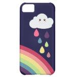 Sweet Rainbow & Cloud iPhone Case