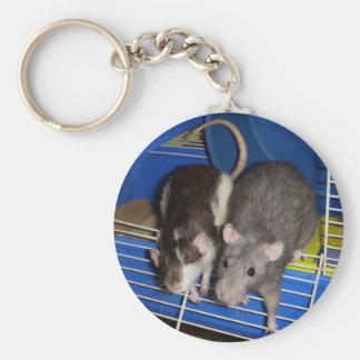 Sweet Rats Keychain
