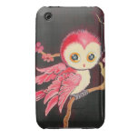 Sweet Red Owl iPhone 3 Covers