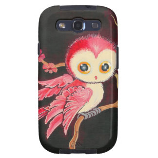 Sweet Red Owl Samsung Galaxy S3 Covers