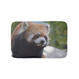 Sweet Red Panda Bear Bath Mat