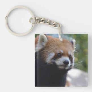 Sweet Red Panda Bear Keychain
