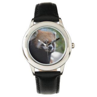 Sweet Red Panda Bear Wrist Watches