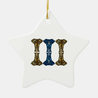 Sweet Reflections Ceramic Star Ornament