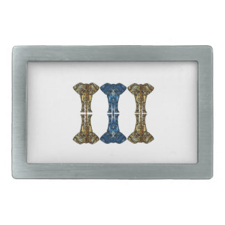 Sweet Reflections Rectangular Belt Buckles