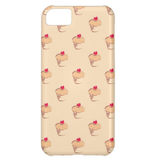 Sweet retro cupcakes muffins with heart iPhone 5C case