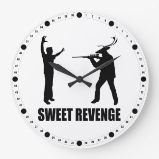 Sweet Revenge Large Clock