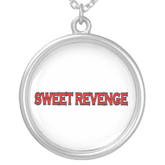 SWEET REVENGE SILVER PLATED NECKLACE
