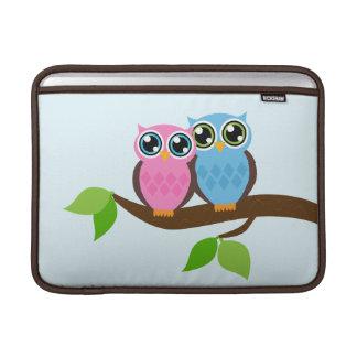 Sweet Romantic Owls MacBook Sleeve