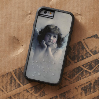 Sweet Rosy Cheeked Vintage Angel in Clouds Tough Xtreme iPhone 6 Case