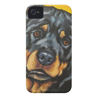 Sweet Rottweiler Case-Mate iPhone 4 Cases