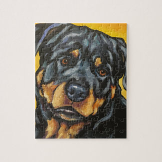 Sweet Rottweiler Jigsaw Puzzle