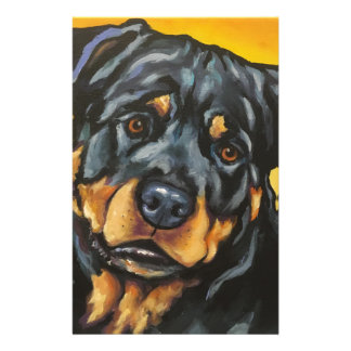 Sweet Rottweiler Stationery
