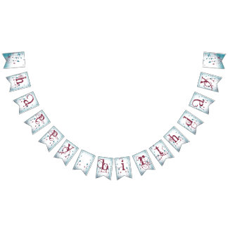 Sweet Sherbet Ebonie B-day Party Bunting Banner