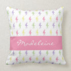 Sweet Shop Ballerina Personalized Throw Pillow