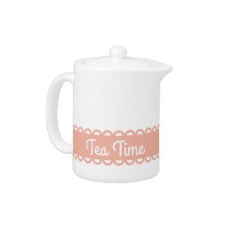 Sweet Shop Peach Ribbon Personalized