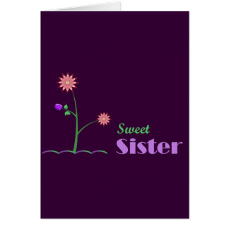 Sweet Sister Card