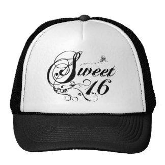 Sweet Sixteen (16) Quotes Trucker Hat
