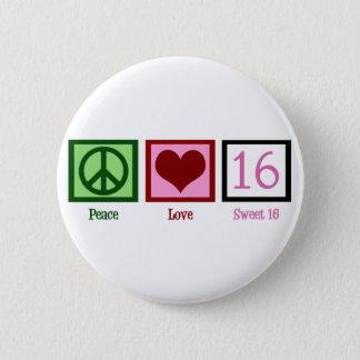 Sweet Sixteen 2 Inch Round Button