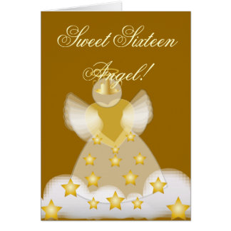 Sweet Sixteen Angel!-Customize Card