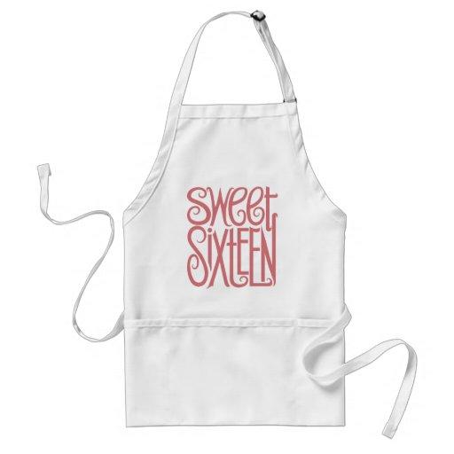 Sweet Sixteen Apron