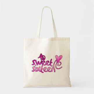 Sweet Sixteen Tote Bags