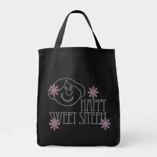 Sweet Sixteen Grocery Tote Bag
