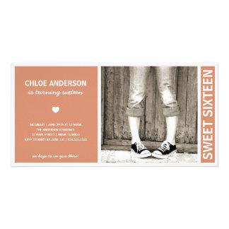 SWEET SIXTEEN | BIRTHDAY INVITATION PHOTO CARDS