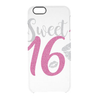 sweet-sixteen clear iPhone 6/6S case