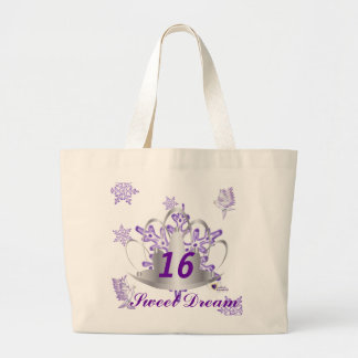 Sweet Sixteen Dream-Customize Tote Bags