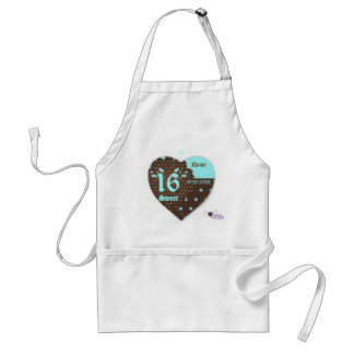 Sweet Sixteen Gifted Apron -Customize