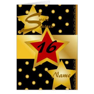 Sweet Sixteen Invitation-Customize Card