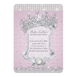 Sweet Sixteen Invitations, Mis Quince Anos Card