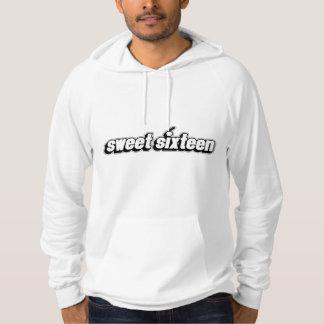 sweet sixteen - men hoodie