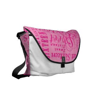 Sweet Sixteen Courier Bag