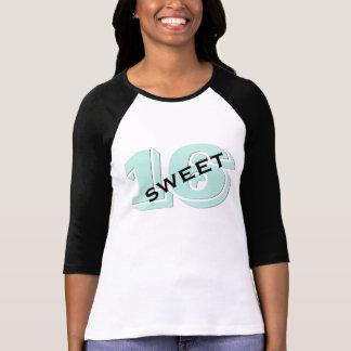 Sweet Sixteen Party 16th Birthday Retro Mint T-Shirt