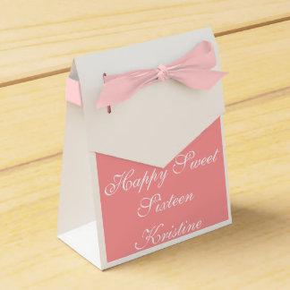 Sweet Sixteen Party Boxes - Favors - Gifts