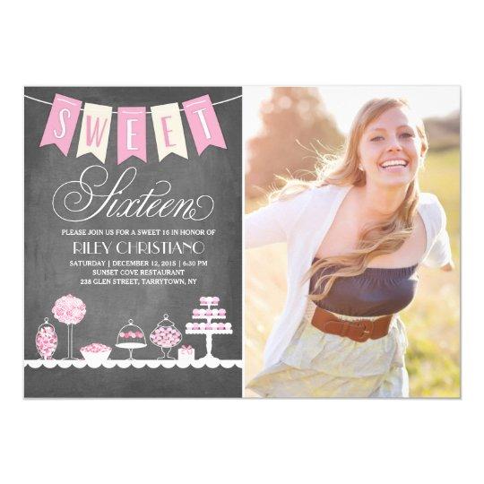 Sweet Sixteen Photo | Birthday Card