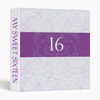 Sweet Sixteen Photo Memories Vinyl Binder