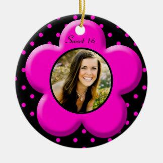 Sweet Sixteen Photo Ornament Keepsake