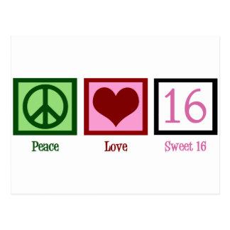 Sweet Sixteen Postcard