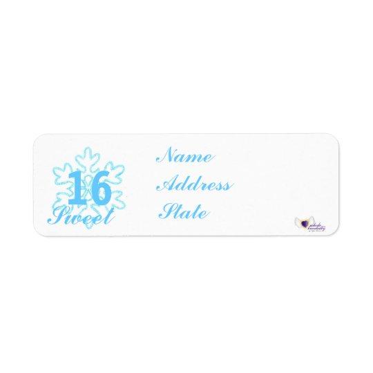 Sweet Sixteen Snowy Princess-Customize