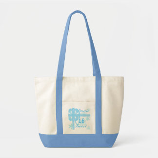 Sweet Sixteen Snowy Princess-Customize Tote Bags