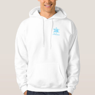 Sweet Sixteen Snowy Princess-Customize Hoodie
