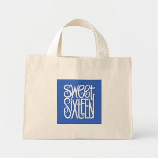 Sweet Sixteen white Bag